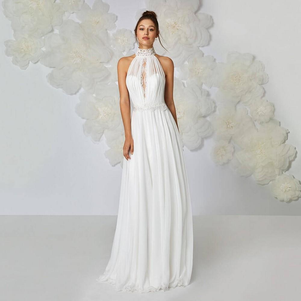 cc50099e38bb Αέρινα Νυφικά Φορέματα για Μοναδικές Εμφανίσεις
