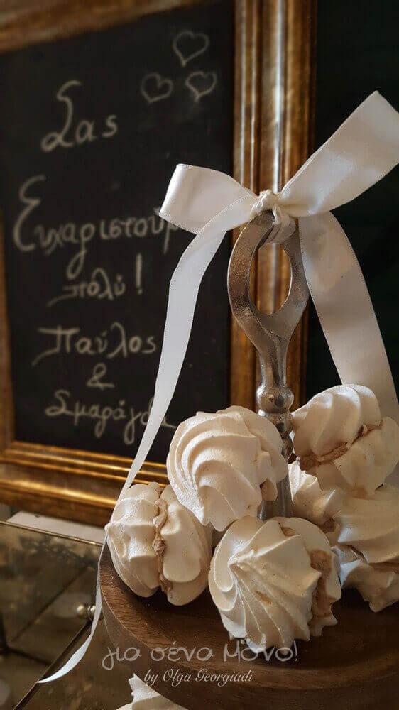 """Γλυκίσματα στο welcome table από το """"Για Σένα Μόνο"""""""